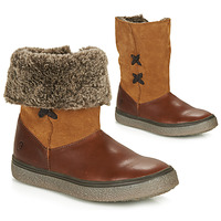 Schoenen Meisjes Laarzen GBB OLINETTE Brown