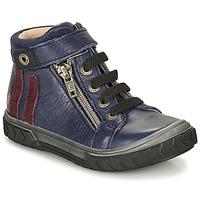 Schoenen Jongens Hoge sneakers GBB OMAHO Blauw