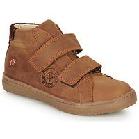 Schoenen Jongens Hoge sneakers GBB NAZAIRE Brown