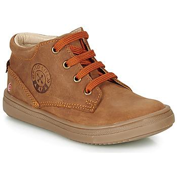 Schoenen Jongens Hoge sneakers GBB NINO Brown