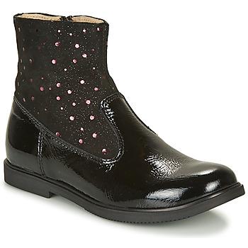 Schoenen Meisjes Laarzen GBB OSHINO Zwart