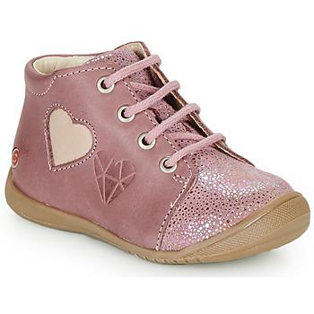 Schoenen Meisjes Hoge sneakers GBB OCALA Vieux / Roze