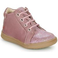 Schoenen Meisjes Hoge sneakers GBB FAMIA Vieux / Roze