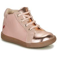 Schoenen Meisjes Hoge sneakers GBB FAMIA Roze