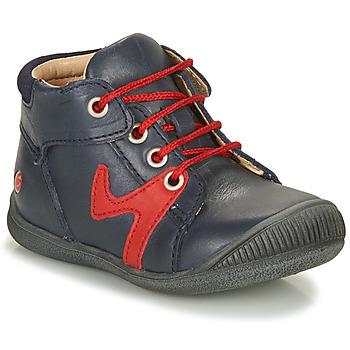 Schoenen Jongens Laarzen GBB OVELO Marine / Rood