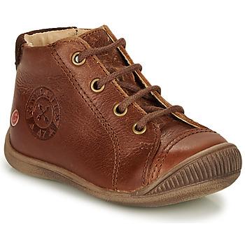 Schoenen Jongens Hoge sneakers GBB NOE Brown