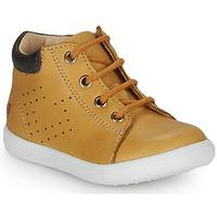Schoenen Jongens Hoge sneakers GBB FOLLIO Ocre