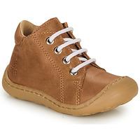 Schoenen Jongens Hoge sneakers GBB FREDDO Brown