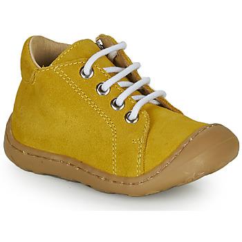 Schoenen Jongens Hoge sneakers GBB FREDDO Geel