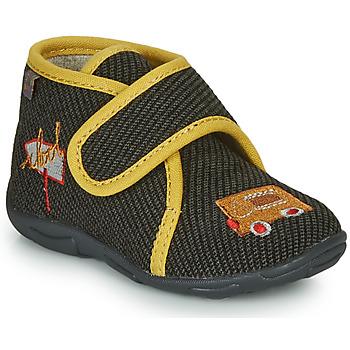 Schoenen Jongens Sloffen GBB OKANDI Zwart