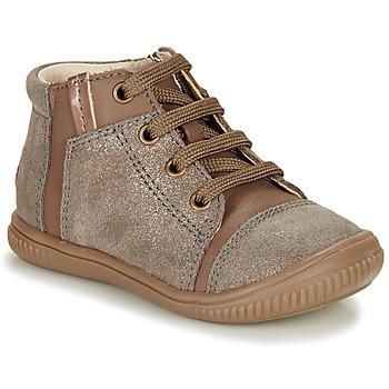 Schoenen Meisjes Hoge sneakers GBB OUNA Beige