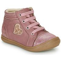 Schoenen Meisjes Hoge sneakers GBB OTANA Vieux / Roze