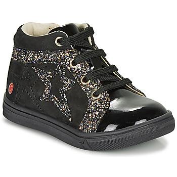 Schoenen Meisjes Hoge sneakers GBB NAVETTE Zwart