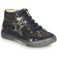 Schoenen Meisjes Hoge sneakers GBB NAVETTE Marine