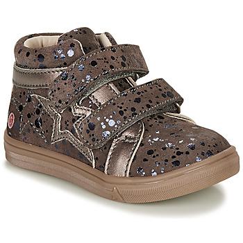 Schoenen Meisjes Hoge sneakers GBB OHANE Brown