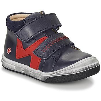 Schoenen Jongens Hoge sneakers GBB OGROU Blauw / Rood