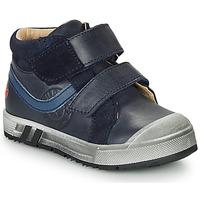 Schoenen Jongens Hoge sneakers GBB OMALLO Marine
