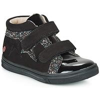 Schoenen Meisjes Hoge sneakers GBB OHANE Zwart