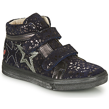 Schoenen Meisjes Hoge sneakers GBB OHANE Marine