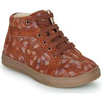 Schoenen Meisjes Hoge sneakers GBB OMBLINE Brique