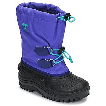 Schoenen Kinderen Snowboots Sorel YOUTH SUPER TROOPER Blauw