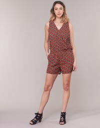 Textiel Dames Jumpsuites / Tuinbroeken Moony Mood KETTELLE Rood / Multikleuren