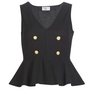 Textiel Dames Tops / Blousjes Moony Mood KILLE Zwart