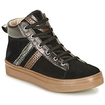 Schoenen Meisjes Hoge sneakers GBB KIBEL Zwart