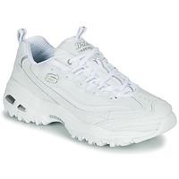 Schoenen Dames Lage sneakers Skechers D'LITES Wit
