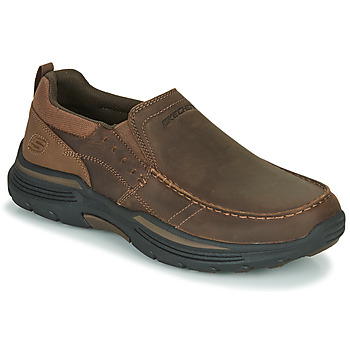 Schoenen Heren Instappers Skechers EXPENDED Brown