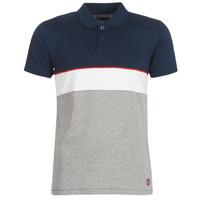 Textiel Heren Polo's korte mouwen Yurban KOULAZ Marine / Grijs / Wit
