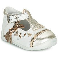 Schoenen Meisjes Ballerina's Catimini CANETTE Wit