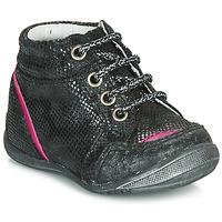 Schoenen Meisjes Laarzen GBB LAURE Zwart