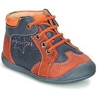Schoenen Jongens Laarzen Catimini CARACAL Blauw