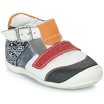 Schoenen Jongens Sandalen / Open schoenen GBB MARTIN Wit / Marine