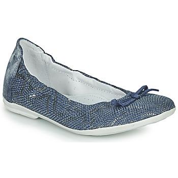 Schoenen Meisjes Ballerina's Ramdam KIKI Blauw