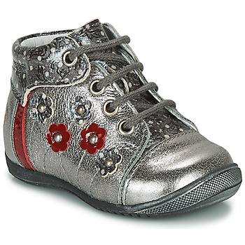Schoenen Meisjes Laarzen GBB NAYANA Zilver