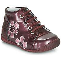 Schoenen Meisjes Laarzen GBB NEIGE Bordeaux