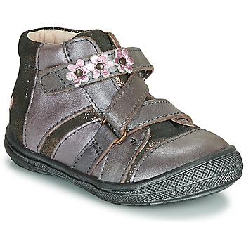 Schoenen Meisjes Laarzen GBB NICOLETA Hout / De / Roze