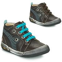Schoenen Jongens Hoge sneakers GBB NOAH Brown / Blauw