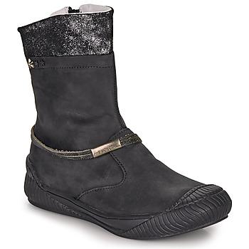 Schoenen Meisjes Laarzen Ikks HILLARY Zwart