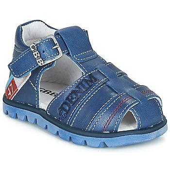 Schoenen Jongens Sandalen / Open schoenen GBB PELAGE Blauw