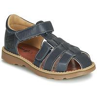 Schoenen Jongens Sandalen / Open schoenen GBB PATERNE Marine