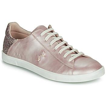 Schoenen Meisjes Lage sneakers Achile PAULA Roze