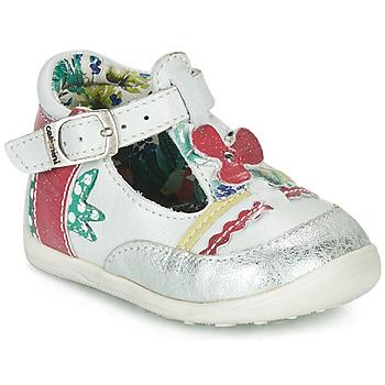 Schoenen Meisjes Sandalen / Open schoenen Catimini PALOMINO Wit / Roze