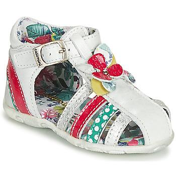 Schoenen Meisjes Sandalen / Open schoenen Catimini PERSAN Wit / Multicolour
