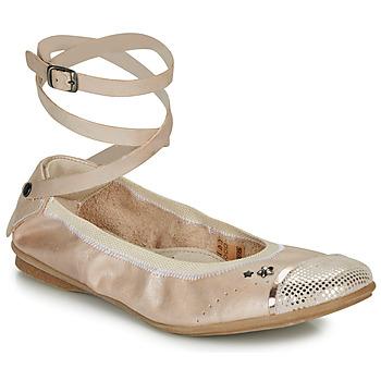 Schoenen Meisjes Ballerina's Ikks EMILY Beige