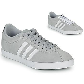 Schoenen Dames Lage sneakers adidas Originals COURTSET GRIS Grijs