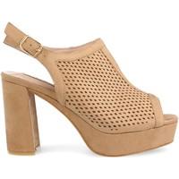Schoenen Dames Sandalen / Open schoenen Clowse 9R82 Camel