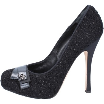 Schoenen Dames pumps Dsquared decolte nero tessuto AM636 Nero